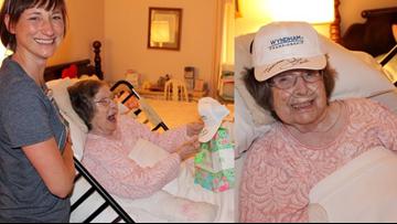 100-year-old Hospice patient gets surprise from her favorite golfer Jordan Spieth