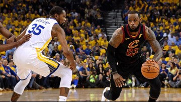 RECAP: Golden State Warriors top Cleveland Cavaliers, 124-114, in Game 1 of 2018 NBA Finals