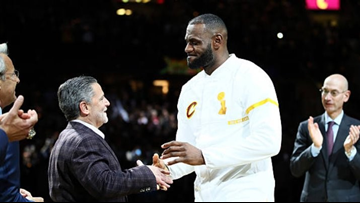 Cleveland Cavaliers owner Dan Gilbert sends message of thanks to LeBron James
