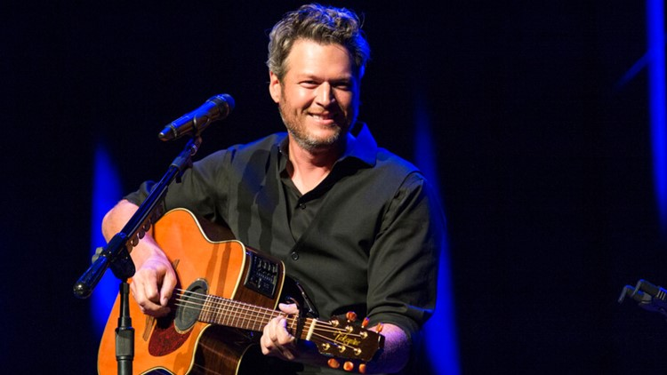 Blake Shelton joins drive to help feed out-of-work musicians