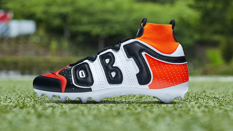 First Look Odell Beckham Jr S Cleats For Cleveland Browns