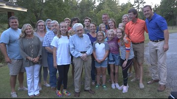 'Don't worry too much' | South Carolina WWII veteran turns 100