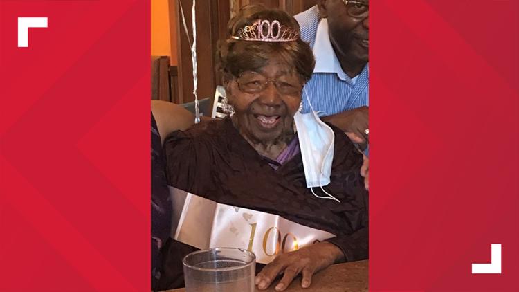 Midlands woman celebrates 101st birthday