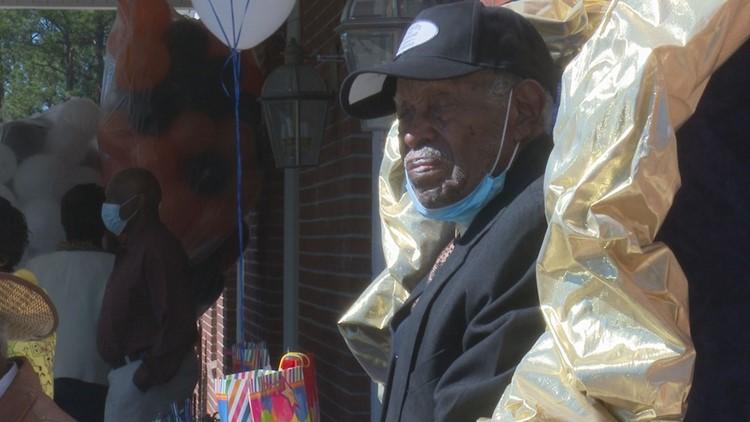 Georgia veteran celebrates 100th birthday