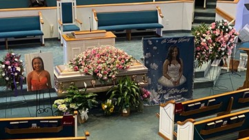 'God will see you through:' Funeral held for slain Fort Valley State student Anitra Gunn