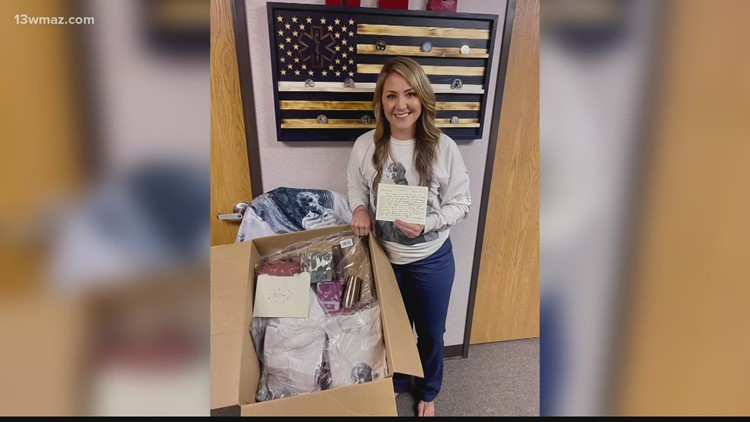 Georgia nurse receives surprise care package from superstar Taylor Swift