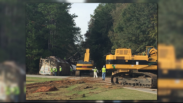 Train derails in Dooly Co.; city of Byromville, Ga., being evacuated