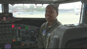 'It's a dream come true:' Meet the Georgia Air National Guard's first black female pilot to deploy