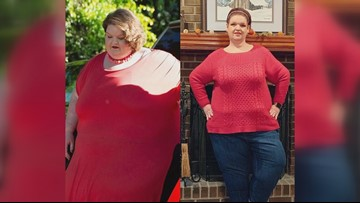 Georgia woman loses 400 lbs in two years after near-death experience