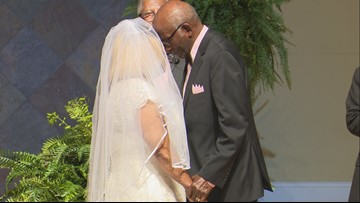 'If you pray together, you stay together:' Macon couple renews vows after 60 years of marriage