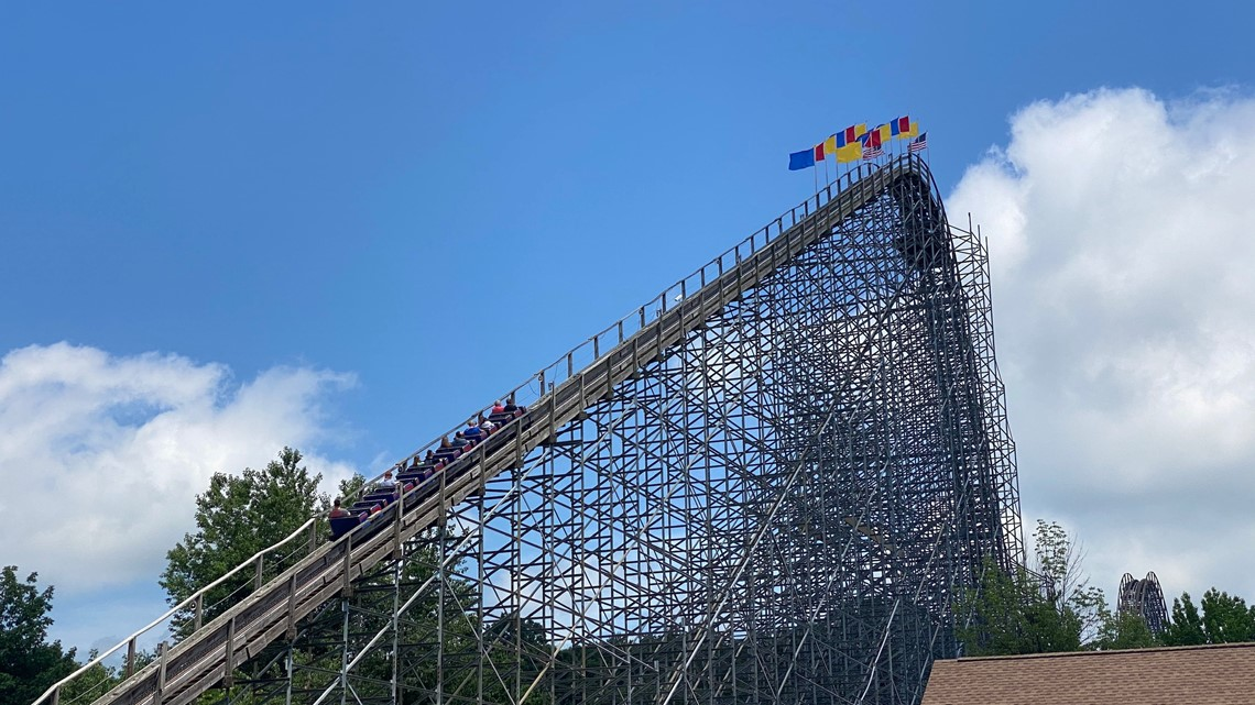 Woman found unresponsive on Indiana roller coaster dies