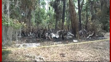 One person dead after fiery plane crash in St. Simons, Ga.