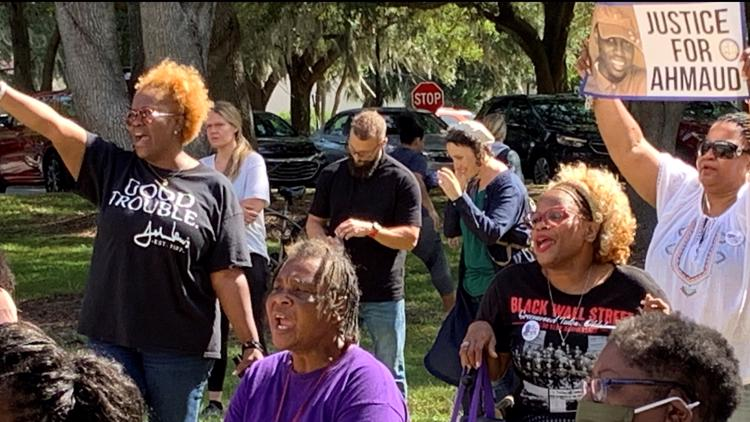 Brunswick community, where Ahmaud Arbery died, tries to heal amid polarizing trial