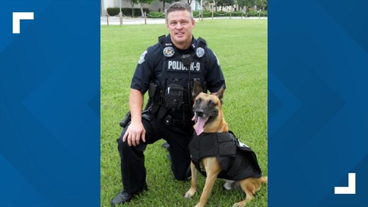 Sarasota department mourns loss of retired police K-9
