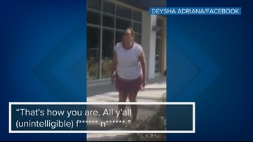 Woman yells racial slur at teen for dropping gum wrapper in St. Petersburg