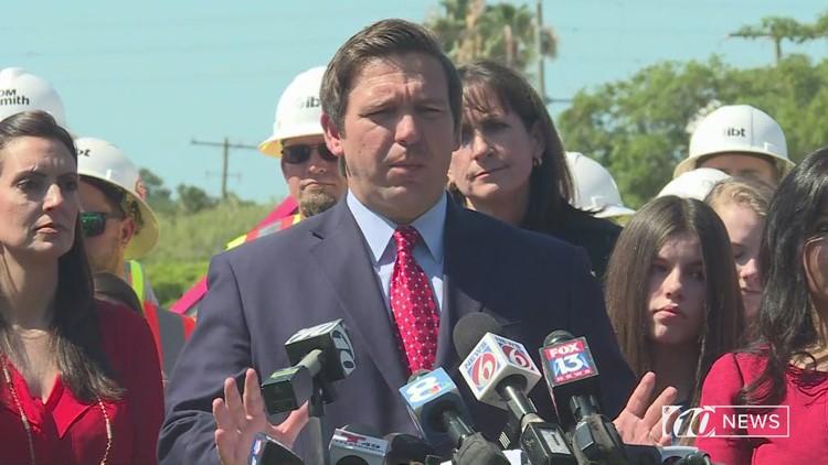 Gov. DeSantis doesn't want migrants dumped in Florida, says he'll talk to Pres. Trump