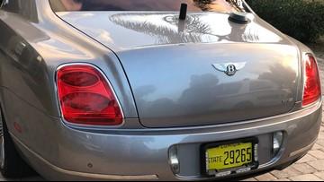 Florida man tricks out his Bentley as a police cruiser: deputies