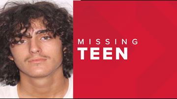Search underway for missing teen