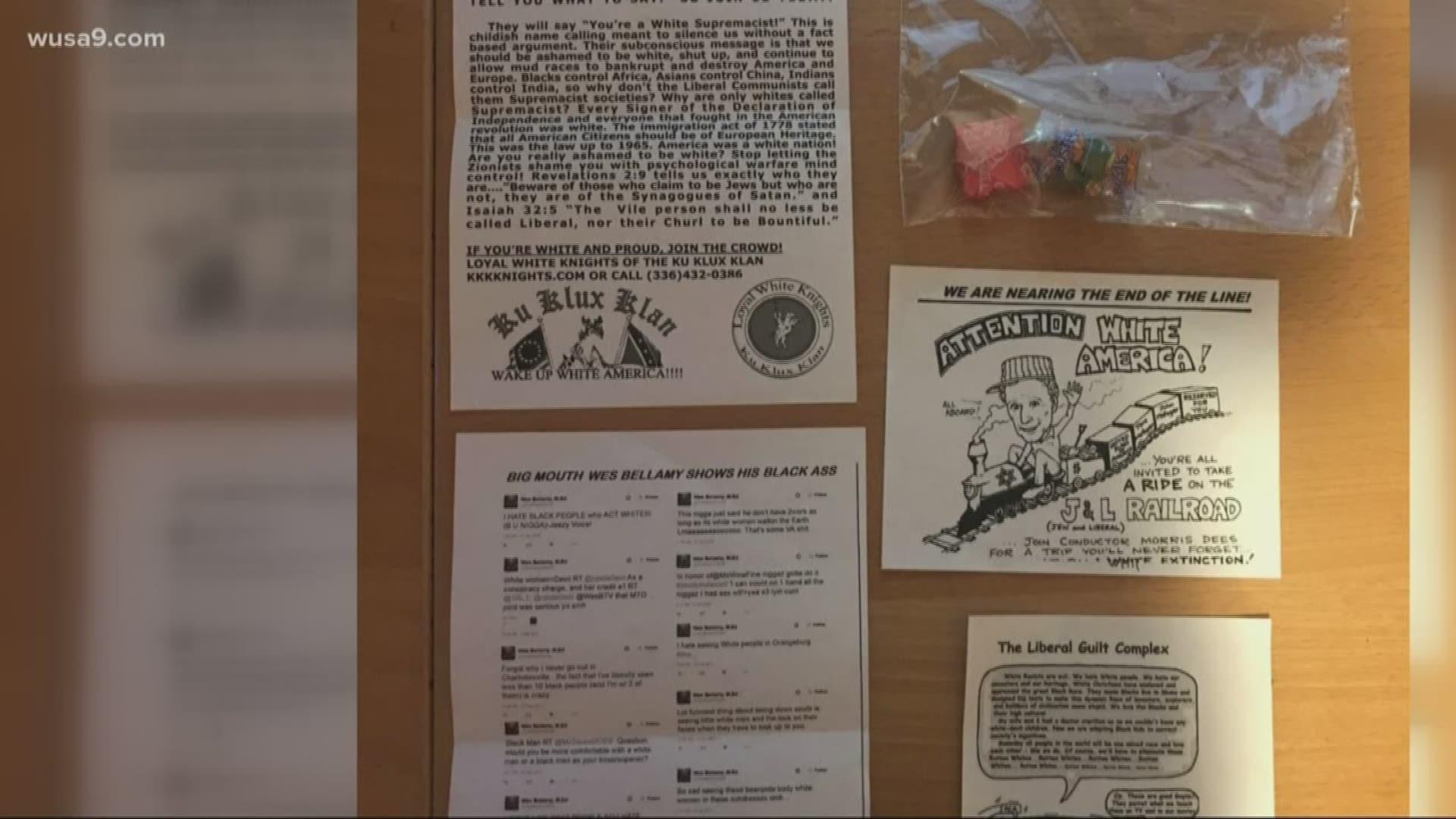 Leesburg Ga Halloween 2020 KKK recruitment fliers found with Halloween candy in Leesburg