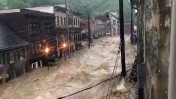 'Devastating, dangerous'   Ellicott City's Main Street hit with flooding again