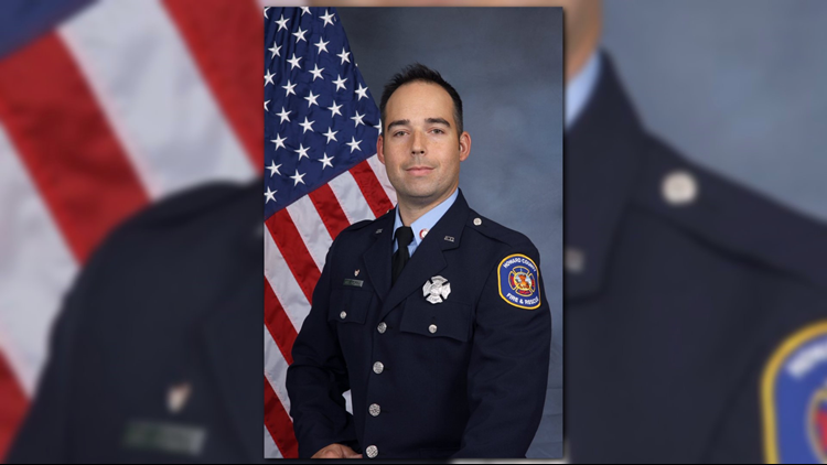 Firefighter dies after falling through floor of Maryland home