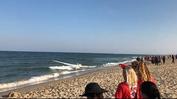 CRAZY VIDEO: Plane crashes into water at the beach, pilot wasn't injured