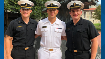 A family lost their Midshipman son. They have two more, including his twin, still at the Naval Academy