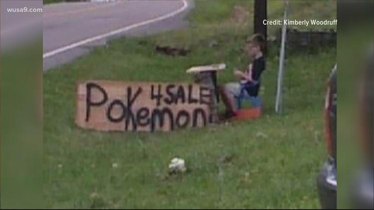 8-year-old boy sells Pokémon cards to save sick dog