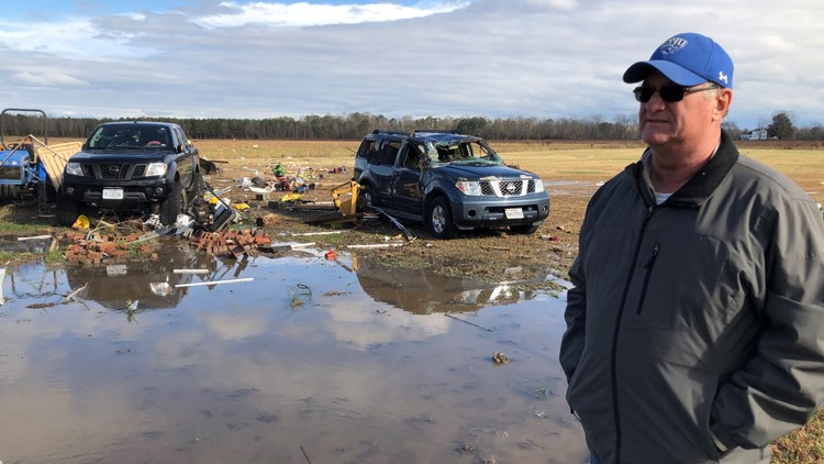 'Presents don't matter, but family does' | Suffolk family thankful after close call with Christmas Eve tornado