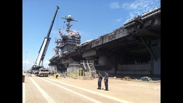 Harry S. Truman Carrier Strike Group deploys