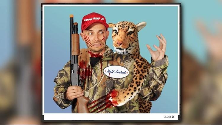 PETA Halloween costume takes aim at Donald Trump Jr.