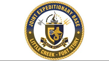 Sailor dead after chase, crash, shooting on Joint Expeditionary Base Little Creek-Fort Story in Virginia
