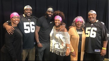 Saints' Demario Davis doesn't have to pay fine for 'Man of God' headband; Says he's giving money to hospital instead