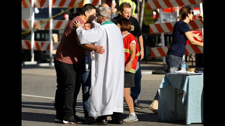 Mass service for Hard Rock victim's family members