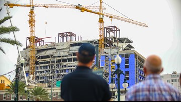 Hard Rock crane collapse demolition delayed to Saturday