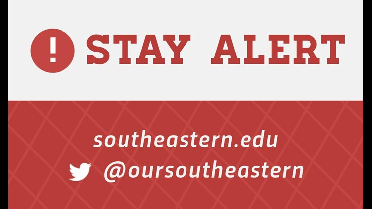 'No present threat' after two hurt in shooting at Southeastern Louisiana University