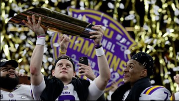 LSU caps perfect season with National Championship win vs Clemson
