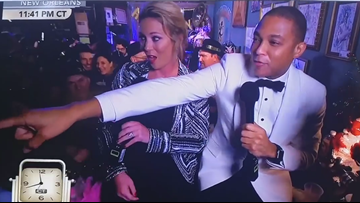 CNN's Don Lemon mistakes reporter for ex-girlfriend on air for New Year's Eve