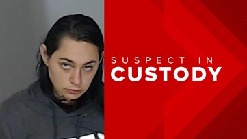 Female fugitive wanted for shooting woman in the chest arrested