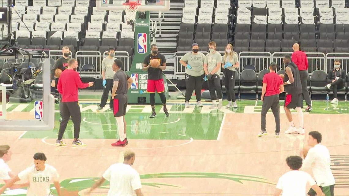Hawks get ready for Game 1 of Eastern Conference Finals