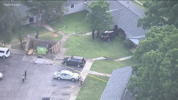 Police chase ends with crash blocks from Atlanta elementary school