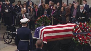 President George H.W. Bush funeral live special report