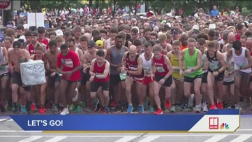 AJC Peachtree Road Race: From start to finish - Part 3