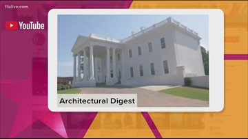 Architectural Digest tours Tyler Perry Studios