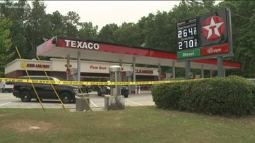 Union City Police investigate shooting at gas station