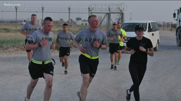 In Middle East, troops carve out their own slice of the AJC Peachtree Road Race