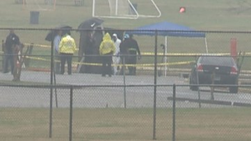 A body was found burned at a sports complex in DeKalb County