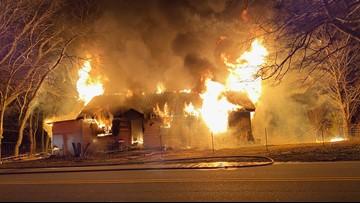 Flames engulf Douglas County home