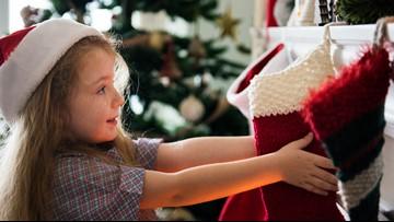 Why do we hang stockings during Christmas?