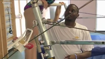 Gym coach finds donor match for life-saving transplant